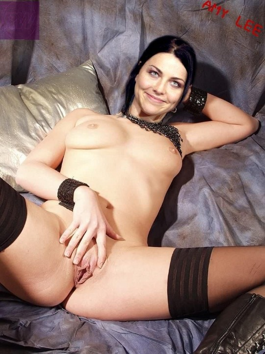 She fucking Amy lee naked fakes fuck the